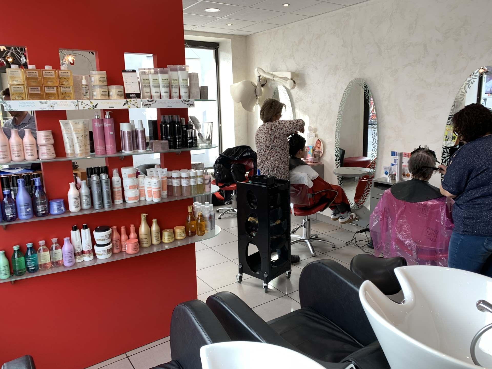 Salon de coiffure à Collonges-sous-Salève | Angèle Coiffure
